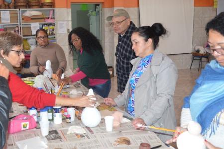 Prefeito Renato Machado acompanhou os alunos no curso