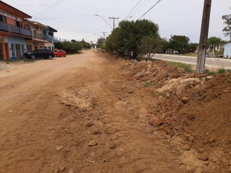 Conclusão da pavimentação da avenida Getúlio Vargas está em andamento