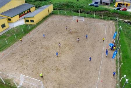 As modalidades disponíveis para a etapa hulhanegrense são: vôlei de praia masculino e feminino, futebol de areia masculino e feminino e futevôlei masculino.