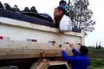 Hulha Negra distribui cesta básica para  produtores atingidos pela estiagem