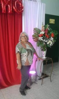 Jucélia era oficineira no projeto Vivendo a Adolescência