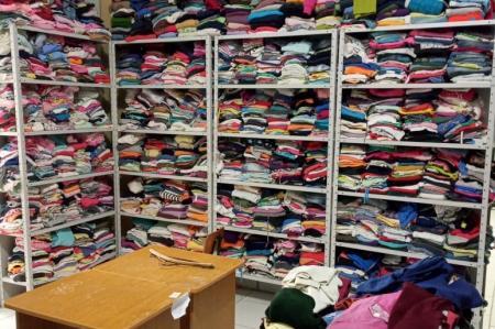 Campanha do Agasalho de Hulha Negra já doou mais de 2,5 mil peças de roupas